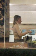 Margot Robbie Out at restaurant in Los Angeles