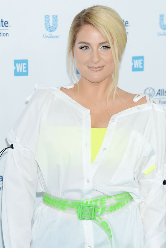 Meghan Trainor At WE Day California 2019 at the Forum in Inglewood