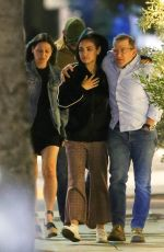 Mila Kunis Grabs dinner at Aussie Chef Curtis Stones Restaurant