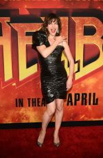 "Milla Jovovich At ""Hellboy"" New York Screening"