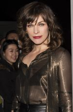 Milla Jovovich At The Hellboy Canadian Premiere held at Scotiabank Theatre in Toronto