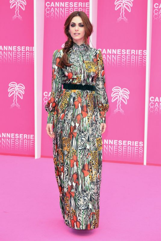Miriam Leone At 2nd Canneseries International Series Festival in Cannes