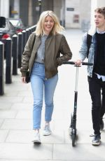 Mollie King At BBC Studio in London