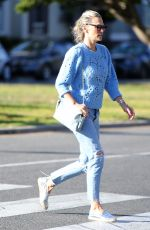 Molly Sims Out in Los Angeles