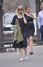 Naomi Watts Chats on the phone while out and about in NYC