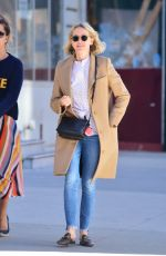 Naomi Watts Takes a stroll in New York City
