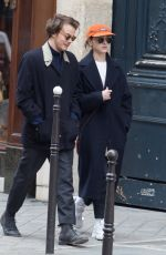 Natalia Dyer & Charlie Heaton Out and about in Paris, France
