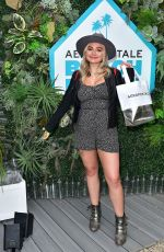 Natalie Alyn Lind At Aero x Repreve Eco Friendly Collection in Malibu