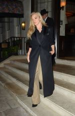 Natalie Dormer Leaving a restaurant in London