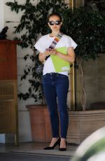 Natalie Portman Out with a friend in Los Angeles