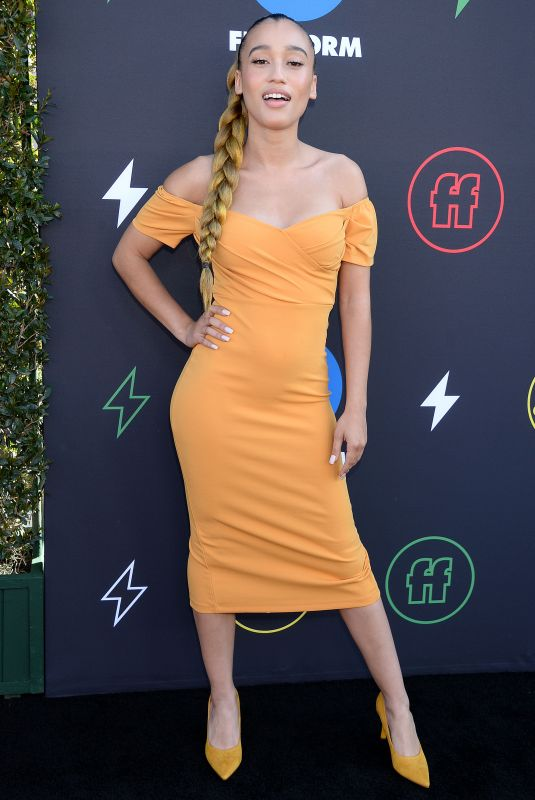Nezza At 2nd Annual Freeform Summit at Goya Studios in Los Angeles