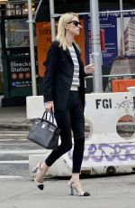 Nicky Hilton Starts her morning ready to get down to business as she heads for a meeting in Soho