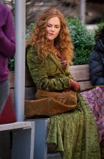 Nicole Kidman Filming on location for The Undoing in NYC