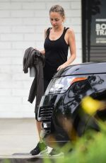 Nicole Richie Leaves Tracy Anderson Method Gym in Studio City