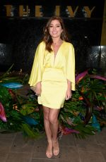 Nikki Sanderson At The Ivy Manchester Roof Top Re Launch with a circus party