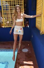 Nina Agdal At the inaugural JEMAA - The NoMad Pool Party in Las Vegas