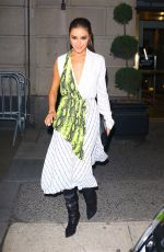 Olivia Culpo Leaves Off-White dinner at L