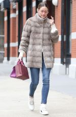 Olivia Palermo Is seen in New York City