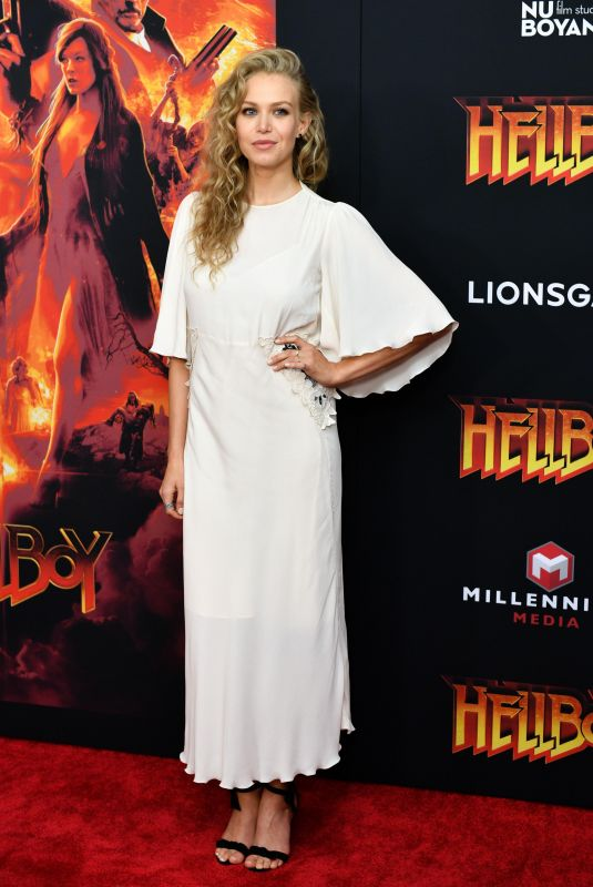 Penelope Mitchell At New York premiere of