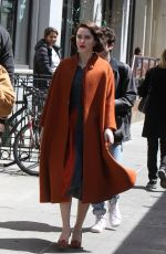 Rachel Brosnahan Out in New York City
