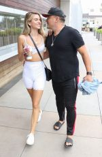 Rachel McCord and Husband Rick Schirmer pack on the PDA after lunch in Marina Del Rey