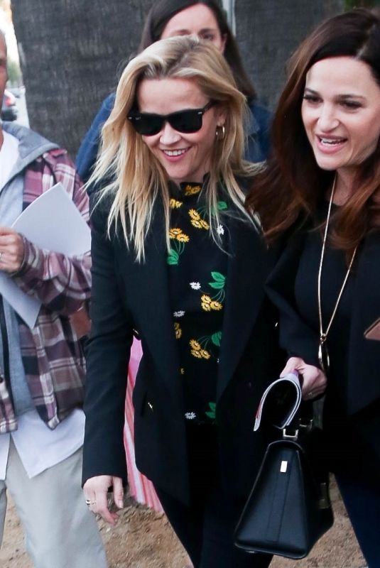 Reese Witherspoon Makes time for fans as she enjoys her day out and about in LA