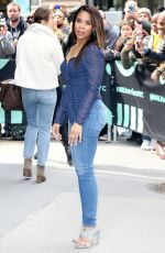 Regina Hall Outside the BUILD Series in New York City