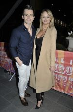 Rhian Sugden At The Ivy Manchester Roof Top Re Launch with a circus party