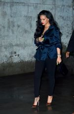 Rihanna At Perry Street restaurant in New York City