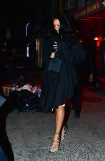Rihanna Keeps a low profile for a date night with boyfriend Hassan Jameel In New York
