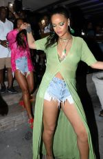 Rihanna Out in Bridgetown