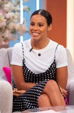 Rochelle Humes At Lorraine TV show in London