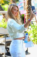 Romee Strijd Shoots Selfies at Coachella Music Festival