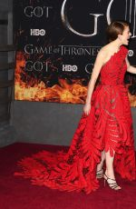 Rose Leslie At Game of Thrones Season 8 Premiere in NY