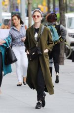 Rose Leslie Out in New York City