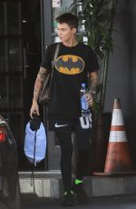 Ruby Rose At the gym in LA