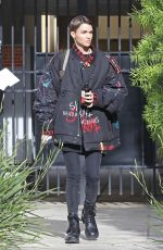 Ruby Rose Fresh-faced as she heads to a beauty appointment in Hollywood