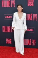 "Sandra Oh At ""Killing Eve"" Season 2 premiere in Hollywood"