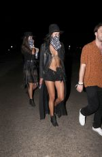 Sara Sampaio On a Night out at Coachella 2019 in Indio