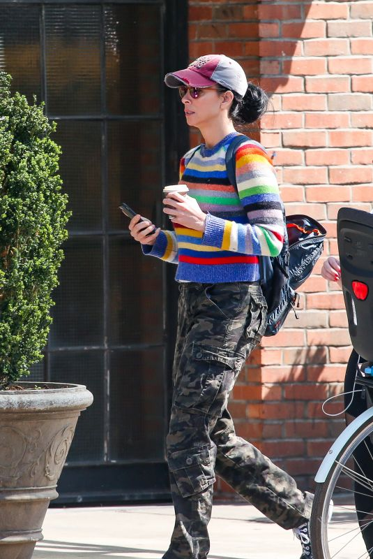 Sarah Silverman Out in New York City