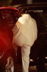 Selena Gomez Gets the giggles as she is seen leaving Nobu with her friends in Malibu