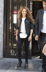 Shakira Appears in a court in Madrid Spain