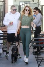 Shantel VanSanten At Alfred's Coffee in Los Angeles