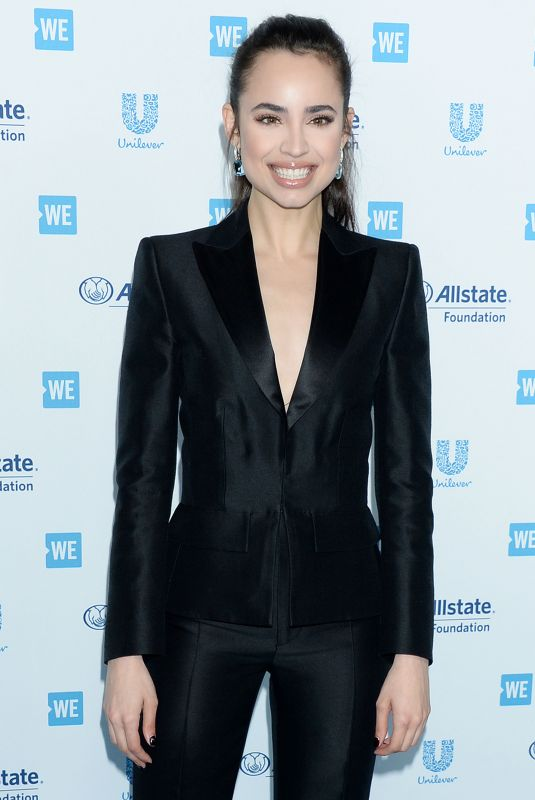 Sofia Carson At WE Day California 2019 at the Forum in Inglewood