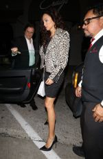 Sofia Milos Leaves dinner at Craigs restaurant in West Hollywood