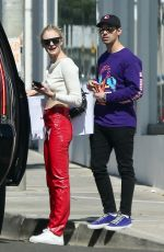 Sophie Turner Shopping In Hollywood