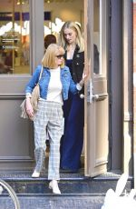 Sophie Turner Shopping with her parents in NYC