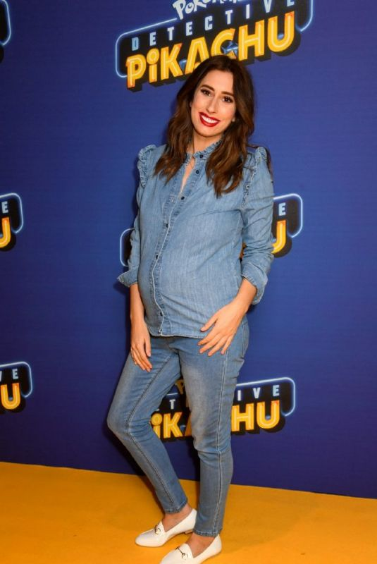 Stacey Solomon At Fun In The Foyer Screening Of Detective Pikachu in London
