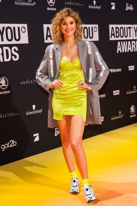 Stefanie Giesinger At ABOUT YOU Awards in Munich