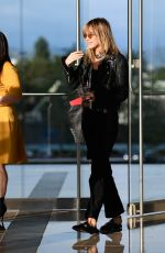 Suki Waterhouse Leaving the CAA Offices in LA